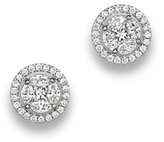 Bloomingdale's Diamond Cluster Halo Stud Earrings in 14K White Gold, .95 ct. t.w. - 100% Exclusive