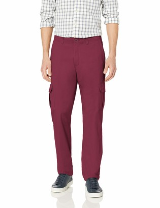 Dickies Men's Active Waist Washed Cargo Chino Pant Regular Taper Fit