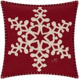 Jan Constantine Mini Fretwork Snowflake Cushion - 30x30cm