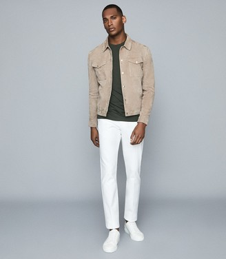 Reiss Eastbury Slim - Slim Fit Chinos in White