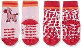 Sterntaler Baby Girls' Abs-Krabbelsöckchen DP Zebra Calf Socks,4