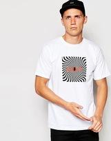 Huf Huf X Spitfire T-shirt With Box Logo - White