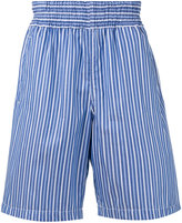 Comme des Garcons striped shorts