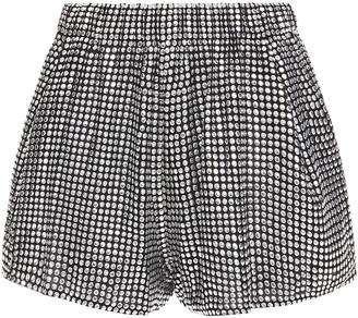 IRO Argos Studded Crepe Shorts