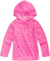 Ideology Space-Dyed Fleece Hoodie, Little Girls, Created for Macy's