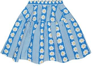 The Animals Observatory Turkey floral cotton skirt