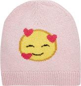Barneys New York Emoji Beanie-PINK