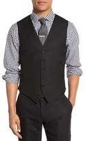 J.Crew Men's Ludlow Trim Fit Solid Wool Vest