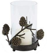 Bed Bath & Beyond Pinecone Hurricane Candle Holder