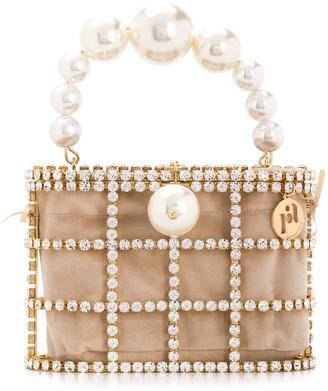 Rosantica Holli embellished beaded tote bag