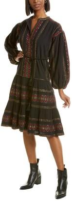 Mes Demoiselles Montserrat Midi Dress