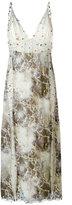 Christopher Kane eyelet cami dress - women - Silk/glass - 40