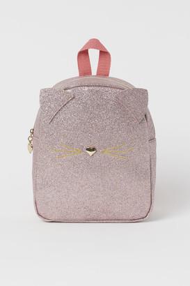 H&M Glittery Mini Backpack - Pink