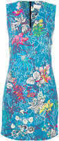 Peter Pilotto floral print mini dress - women - Polyester/Spandex/Elastane/Acetate/Viscose - 8