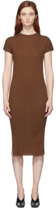 Studio Nicholson Brown Pretoria Dress