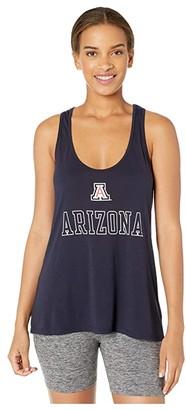 Champion College Arizona Wildcats Eco Swing Tank Top (Navy) Women's Sleeveless