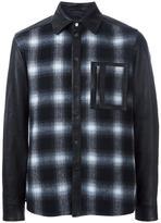 Drome plaid front shirt