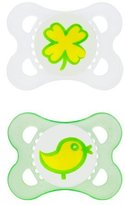 Mam Silicone Pacifiers Eco - 2+m