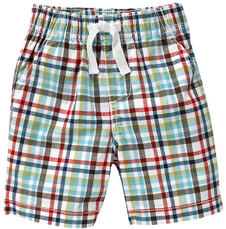 Gymboree Pull-On Plaid Short