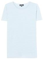 A.P.C. Helen Printed Striped Cotton T-shirt