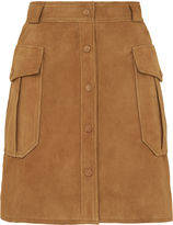 Whistles Suede Pocket Skirt