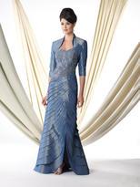 Mon Cheri Ivonne D by Mon Cheri - 114D35 Two Piece Dress In Wedgewood