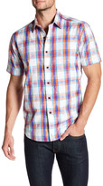Robert Graham Barstow Classic Fit Short Sleeve Shirt