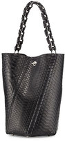 Proenza Schouler Hex Medium Bucket Bag, Black