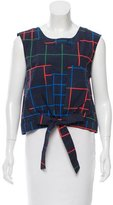 Timo Weiland Geometric Print Sleeveless Top w/ Tags