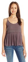 O'Neill Women's Victoria Woven Embroidered Tank