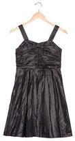 Burberry Girls' Sleeveless Bow-Accented Dress