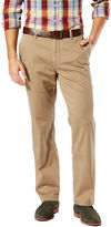 Dockers D2 Washed Cotton Flat-Front Pants