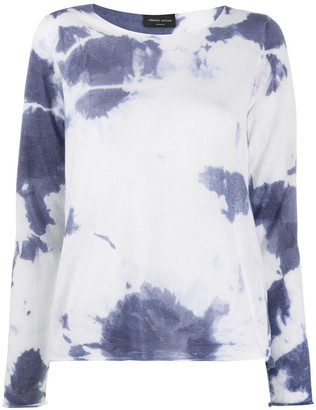 Roberto Collina Tie-Dye Relaxed Top