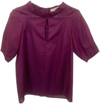 Chloé Purple Cotton Top for Women