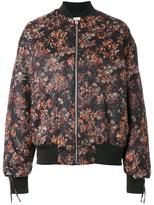IRO floral print bomber jacket - women - Cotton/Polyester - 34