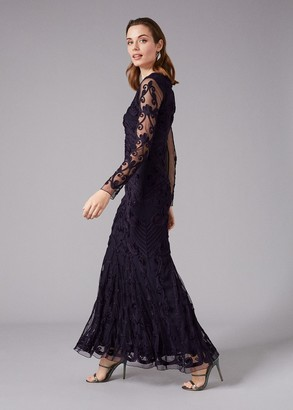 Phase Eight Seymour Tapework Lace Maxi Dress