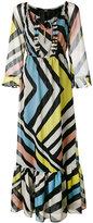 Steffen Schraut striped long dress - women - Polyester - 38