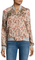 Vero Moda Nicole Floral Bomber Jacket