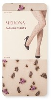 Merona Women's Fashion Tights Nude with Rosette Collection