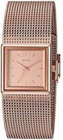 DKNY Women's 'Stonewall' Quartz Stainless Steel Casual Watch, Color:Rose Gold-Toned (Model: NY2564)