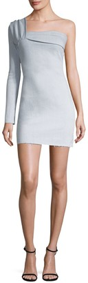 Baja East Contour Mini Dress