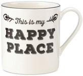 Lenox Around The Table Collection Stoneware Happy Place Mug