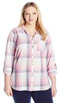 Columbia Women's Plus-Size Wild Haven Long Sleeve Shirt