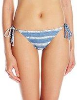 Billabong Women's Beach Pride Indigo Tropic Bikini Bottom