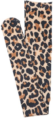 Junya Watanabe Comme Des Garçons Junya Watanabe Comme des Garcons Leopard Print Stockings