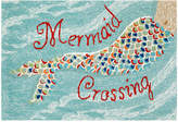 Liora Manné Front Porch Indoor/Outdoor Mermaid Crossing 2' x 3' Area Rug