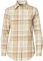 Ralph Lauren Petite Plaid Cotton Shirt