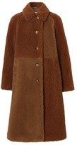 Burberry Single-Breasted Teddy Coat