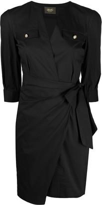 Liu Jo Slim-Fit Ruched Dress
