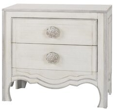Ophelia Shepha Antique Charm 2 Drawer Accent Chest & Co.